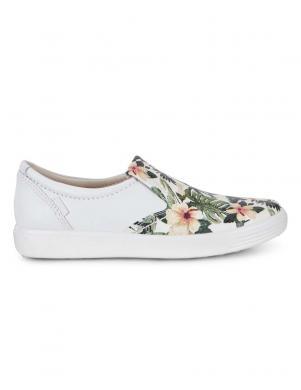 Sieviešu apavi ar ziedu motīvu Soft ECCO