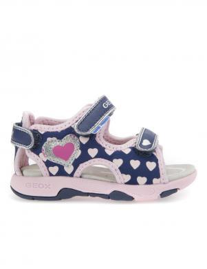 Bērnu rakstainas sandales ar velkro aizdari B SANDAL MULTY GIRL GEOX