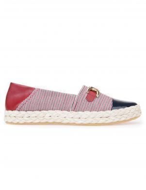 Sieviešu svītraini apavi ar lakotu priekšdaļu GEOX
