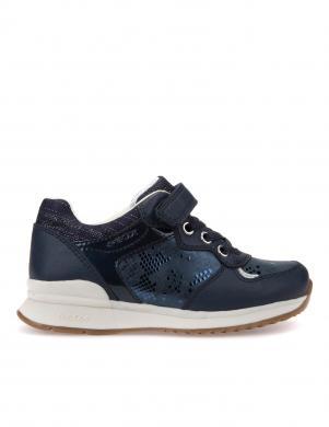 Bērnu zili apavi ar velkro aizdari J EMMAISI GIRL GEOX