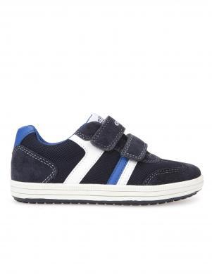 Bērnu zili apavi ar velkro aizdari JR VITA GEOX