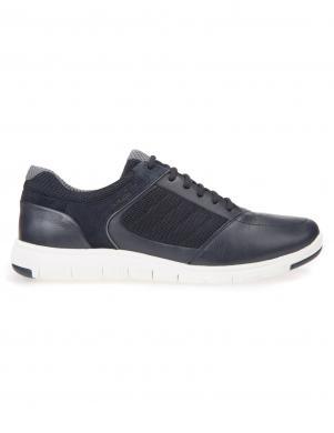 Vīriešu tumši zili šņorējamie brīva laika apavi GEOX