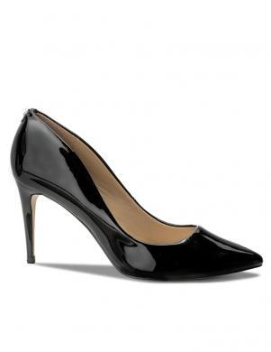 Sieviešu melni lakoti augstpapēžu apavi GUESS