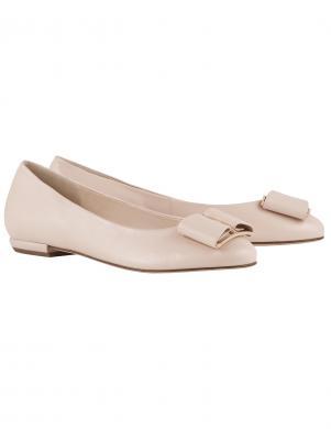 Sieviešu smilšu krāsas balerīnas apavi HOGL