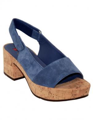 Sieviešu zilas brīva laika sandales HOGL