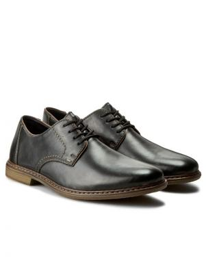 Vīriešu melni klasiski apavi RIEKER