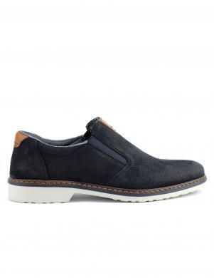 Vīriešu tumši zili apavi RIEKER