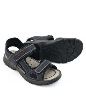 Vīriešu zilas sandales ar velkro aizdari RIEKER