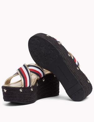 Sieviešu pilnzoles sandales ar augstu platformu TOMMY HILFIGER