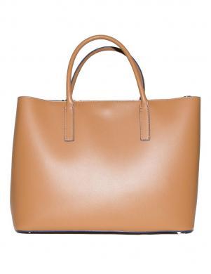 Sieviešu brūna ādas soma TOSCA BLU