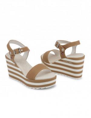 Sieviešu sandales ar augstu platformu U.S. POLO