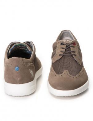 Vīriešu brūni apavi U.S. POLO