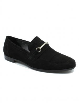 Sieviešu melni zamšas klasiski apavi Marilyn VAGABOND