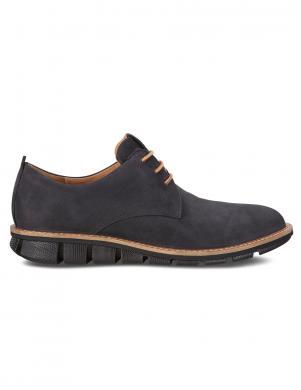 ECCO vīriešu melni šņorējami ādas apavi JEREMY
