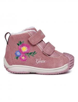 Bērnu rozā zābaki ar siltinājumu B TOLEDO GIRL GEOX
