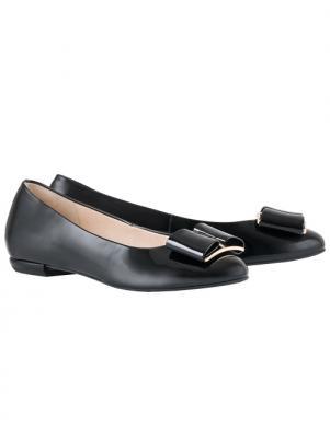 HOGL sieviešu melni lakoti eleganti apavi