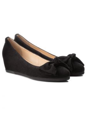 Sieviešu melni zamšas apavi HOGL