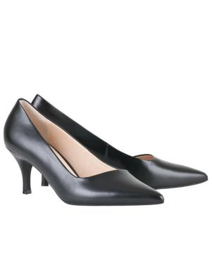 HOGL sieviešu melni eleganti augstpapēžu apavi