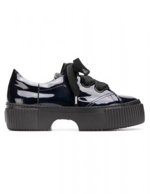 AGL sieviešu tumši zili lakoti apavi