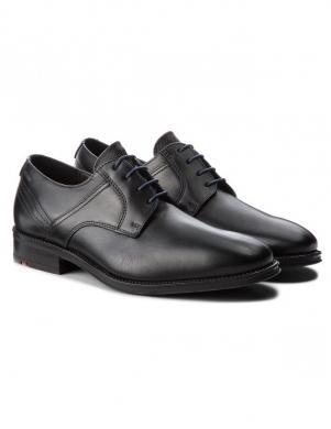 LLOYD vīriešu melni ādas klasiski apavi