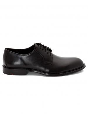 LLOYD vīriešu melni klasiski ādas apavi