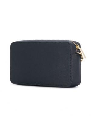 MICHAEL KORS sieviešu zila maza soma pār plecu
