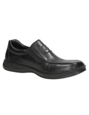 RIEKER vīriešu melni apavi