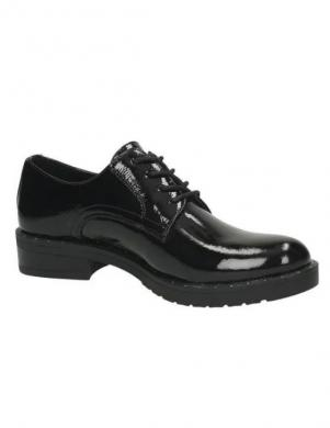 YOUNG SPIRIT bērnu melni lakoti apavi