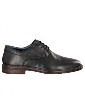 RIEKER vīriešu melni klasiski batai