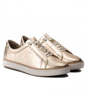 TOMMY HILFIGER sieviešu zelta brīva laika apavi