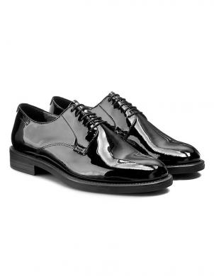 VAGABOND sieviešu melni lakoti eleganti apavi