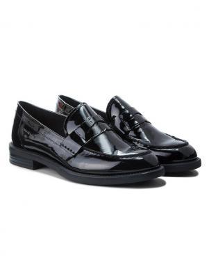 VAGABOND sieviešu melni lakoti apavi
