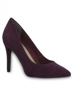 Sieviešu violeti zamšas augstpapēžu apavi TAMARIS