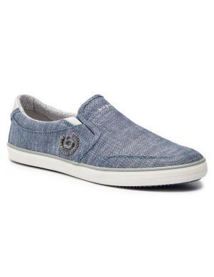 BUGATTI vīriešu zili brīva laika apavi
