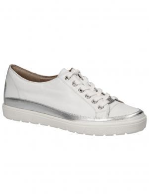 CAPRICE sieviešu balti ādas apavi