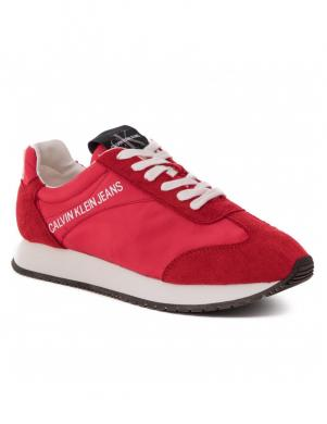 CALVIN KLEIN JEANS vīriešu sarkani apavi
