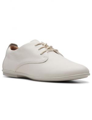 CLARKS sieviešu balti ādas apavi