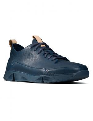 CLARKS vīriešu zili ādas apavi