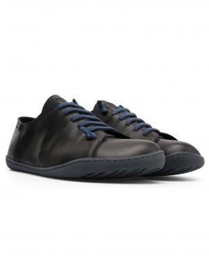 CAMPER vīriešu melni ādas brīva laika apavi PEU