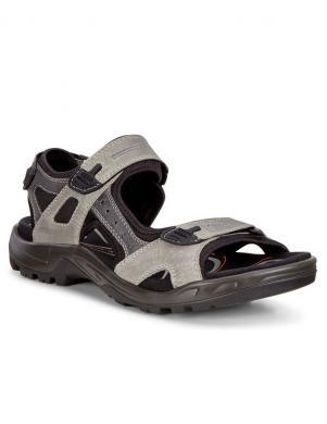 ECCO vīriešu pelēkas ādas sandales OFFROAD