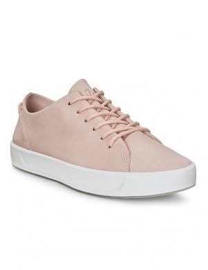 ECCO sieviešu rozā ādas apavi SOFT 8