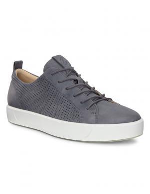 ECCO vīriešu pelēki ādas brīva laika apavi SOFT 8