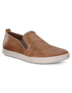 ECCO vīriešu brūni ādas apavi COLLIN