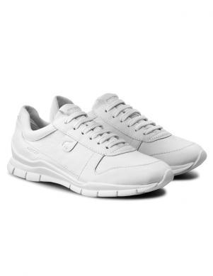 GEOX sieviešu balti ādas brīva laika apavi