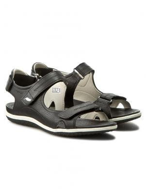 GEOX sieviešu melnas sandales