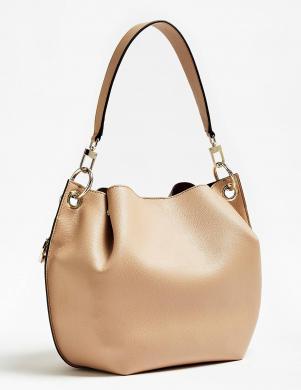 GUESS krēmīgas krāsas sieviešu soma