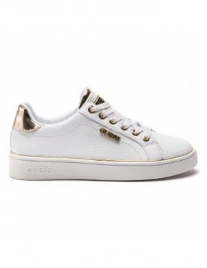 GUESS sieviešu balti šņorējami brīva laika apavi