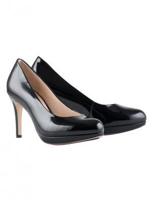 HOGL sieviešu melni lakoti augstpapēžu apavi STUDIO 80