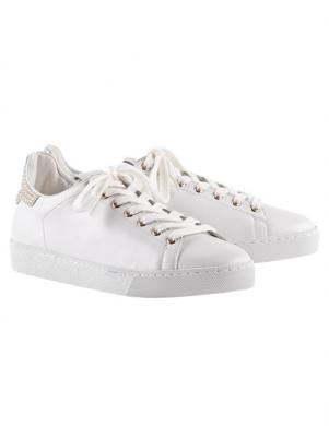 HOGL sieviešu balti ādas brīva laika apavi GLAMMY