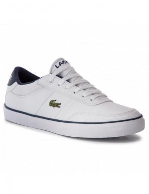 LACOSTE sieviešu balti apavi